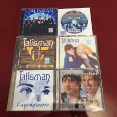 LOT 6 cd-uri Talisman (pop-rock) , ca si NOI !!!