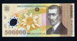 ROMANIA 500.000 lei 2000 , semnatura GHIZARI . NECIRCULATA . RARA IN UNC !!