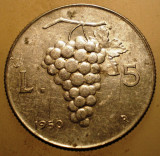 1.776 ITALIA STRUGURI 5 LIRE 1950