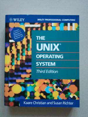The UNIX operating system (sisteme de operare) (programare) (in limba engleza) foto