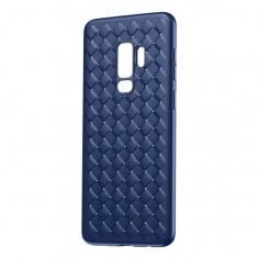 Husa Baseus BV Weaving Silicon pentru Samsung Galaxy S9 Plus Albastru