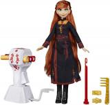 Cumpara ieftin Papusa Frozen2 Anna Cu Par Lung Pentru Impletit