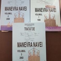 TRATAT DE MANEVRA NAVEI - Deboveanu Marin (3 volume)