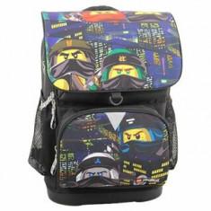 Ghiozdan scoala Optimo cu geanta sport Urban LEGO Ninjago