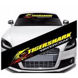 Sticker parasolar auto TIGER SHARK