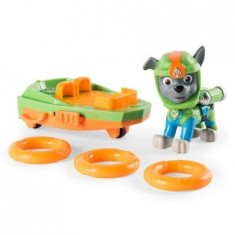 Set Figurine Deluxe Paw Patrol Rocky