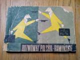 GHID DE CONVERSATIE POLON-ROMAN - Vladimir Iliescu - Stiintifica, 1966, 153 p.