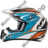 MBS Casca motocross AFX FX-17 Factor, L, albastru/alb/portocaliu, Cod Produs: 01104549PE