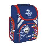Cumpara ieftin Ghiozdan Ergonomic Footbal Starpak, spate ergonomic, albastru