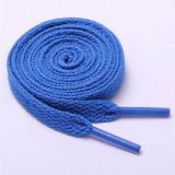 Sireturi colorate poliester, 120 cm, albastru