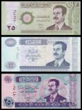 IRAK █ SET █ 50+100+250 Dinars █ 2001-2002 █ P-86-88 █ UNC █ necirculata