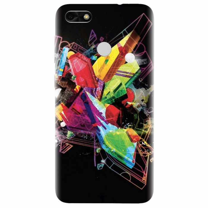 Husa silicon pentru Huawei P9 Lite, Abstract Shape