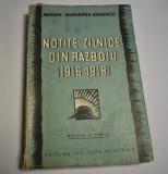 Alexandru Averescu - Notite zilnice din razboiu 1916-1918 (editia a treia)