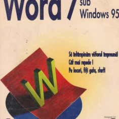 Word 7 sub Windows 95