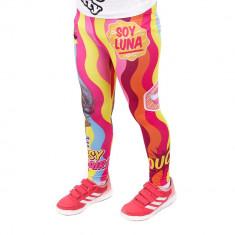 Colanti fete Soy Luna stripes roz