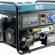 Generator curent 5.5 kW, KS 7000E Könner & Söhnen, E-start, autonomie 17h