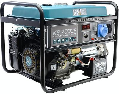 Generator curent 5.5 kW, KS 7000E Könner & Söhnen, E-start, autonomie 17h foto