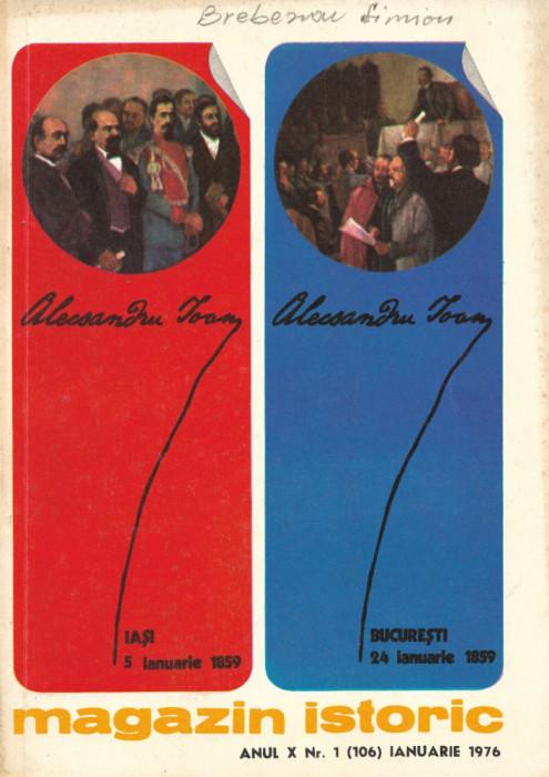 Magazin Istoric - anul 10 - nr. 1 (106) - ianuarie 1976 (C201)