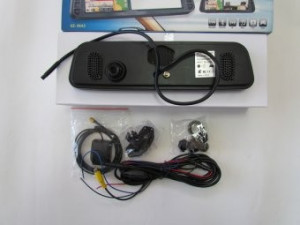Oglinda monitor cu GPS 3D Bluetooth Camera filmat Video Jocuri Muzica