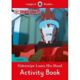 Transformers. Sideswipe Loses His Head Activity Book
