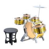 Set tobe Jazz Drum cu toba bass si scaunel marime mare
