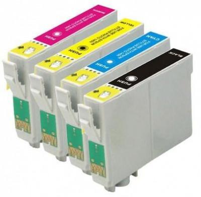 Set 4 cartuse imprimanta Epson T0711/T0712/T0713/T0714 compatibile foto