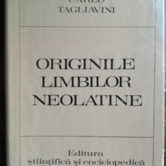 Originile limbilor neolatine- Carlo Tagliavini