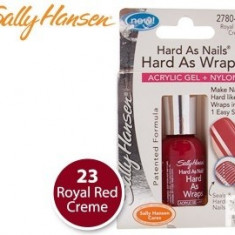 Lac de unghii, Sally Hansen, Hard As Nails, acrylic gel + nylon,11.8 ml, 2780-23 Royal Red Creme
