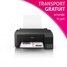 Imprimanta inkjet color Epson L1110, sistem CISS integrat, A4, USB