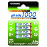 Acumulatori Panasonic AAA R3 1000mAh 4 Bucati / Set