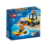 LEGO City ATV si barca de salvamari