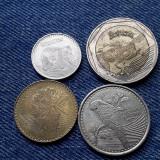 #44 - Lot 50, 100, 200, 500 Pesos Columbia 2015 2017 2018 / 4 monede fauna