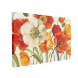 Tablou Canvas Poppies Melody 50 x 70 cm, 100% Poliester
