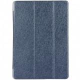 Husa Tableta Piele OEM Stand Silk pentru Huawei MediaPad T3 10, Bleumarin