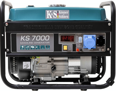 Generator curent KS 7000 Könner & Söhnen Germany, benzina, 5.5 kW, Easy Start foto