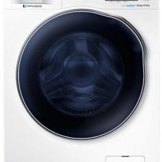 Masina de spalat rufe cu uscator Samsung WD90J6A10AW, 1400 RPM, 9 kg spalare, 6 kg uscare, Eco Bubble, Clasa A (Alb)