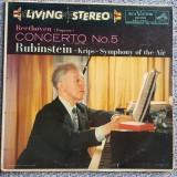 Cumpara ieftin Vinil Artur Rubinstein, pian, Beethoven Concerto no 5 in E Flat, op 73, Emperor