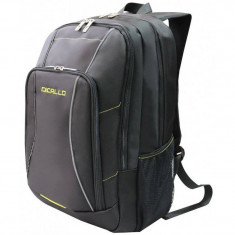 Rucsac notebook Dicallo LLB9963-17 17.3 inch Black - Green