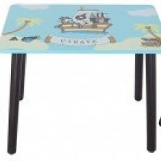 Set masuta si 2 scaunele Copii Fun Pirate Blue