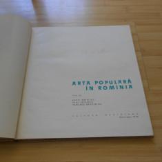 BORIS ZDERCIUC--ARTA POPULARA IN ROMANIA - 1964