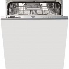 Masina de spalat vase incorporabila Hotpoint HIO3C21CW, 14 seturi, 9 programe, 3D Zone Wash, Motor Inverter, Clasa A++