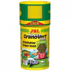 JBL NovoGranoVert Mini 100ml Click, 40gr, 3009600, Hrana pesti erbivori granule