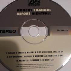 ROBERT FRANCIS - BEFORE NIGHTFALL  -   CD