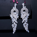 Cercei lungi Luxury Diamonds