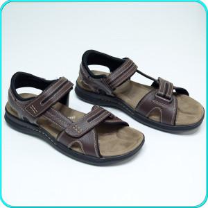 DE FIRMA → Sandale piele, aerisite, comode, calitate DOCKERS → barbati | nr. 45