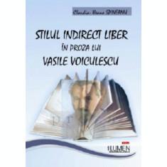 Stilul indirect liber in proza lui Vasile Voiculescu - Claudia Ileana SPINEANU