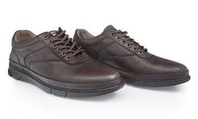 Pantofi barbati din piele naturala Caspian Cas-Tiger-01-Kah foto