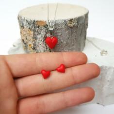 Set inimioare pe argint