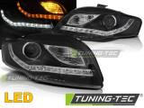 Faruri Audi A4 B7 11.04-03.08 DAYLIGHT LED IND. Negru