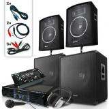 """Cumpara ieftin Skytec Set DJ PA""""Bassbergen USB"""" 2000 W"""